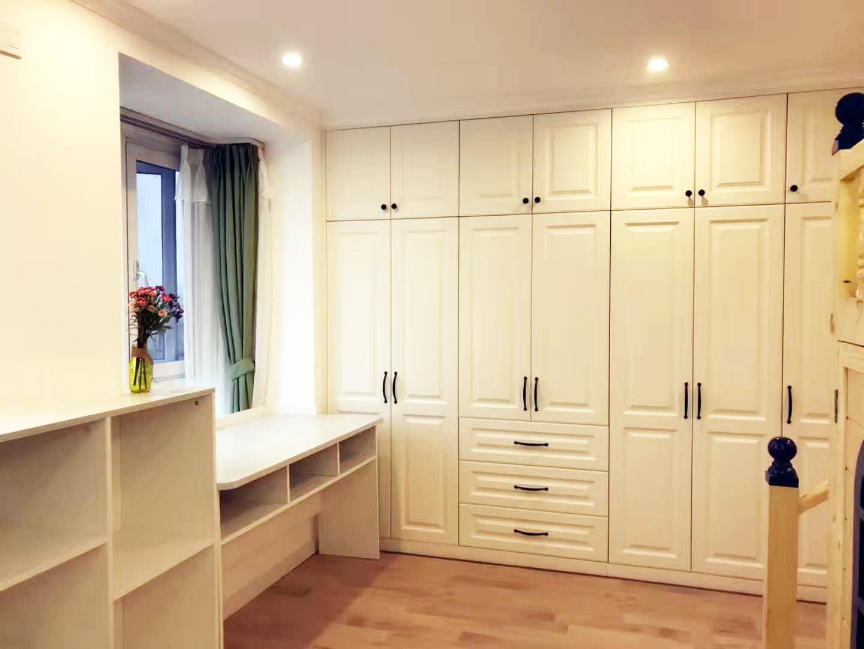 128m²三室二厅:旧房改造北欧现代清新风格 案例 第7张