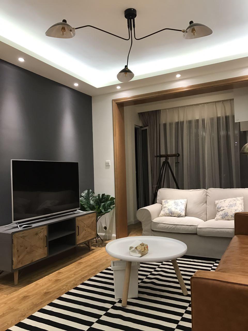93m²三室二厅:我想换种北欧风格的装修 案例 第2张
