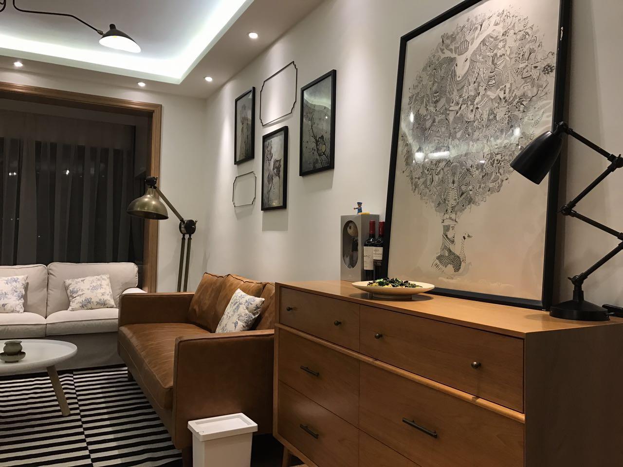 93m²三室二厅:我想换种北欧风格的装修 案例 第3张